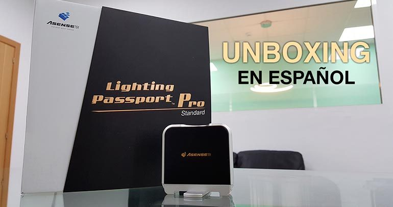 Unboxing ASENSETEK Lighting Passport Pro